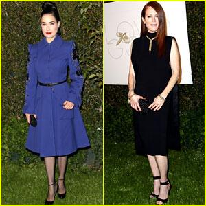Julianne Moore & Dita Von Teese: LoveGold's Pre-Golden Globes Party!