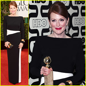 Julianne Moore - Golden Globes 2013 Red Carpet