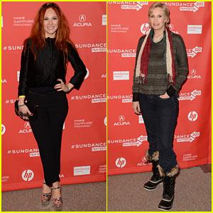 Juno Temple & Jane Lynch: 'Afternoon Delight' Sundance Premiere