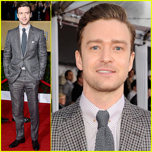 Justin Timberlake - SAG Awards 2013 Red Carpet