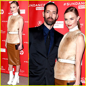 Kate Bosworth & Michael Polish: 'Big Sur' Sundance Premiere!