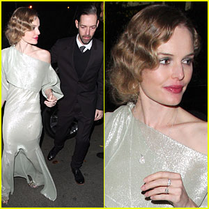Kate Bosworth & Michael Polish: Chateau Marmont Arrival!