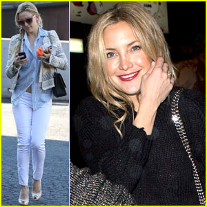 Kate Hudson: Nail Salon Stop!