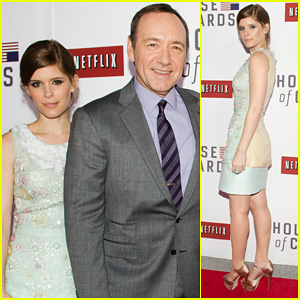 Kate Mara: 'House Of Cards' Screening with Kevin Spacey!
