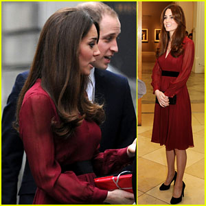 Kate Middleton & Prince William: Duchess of Cambridge Portrait Unveiled!