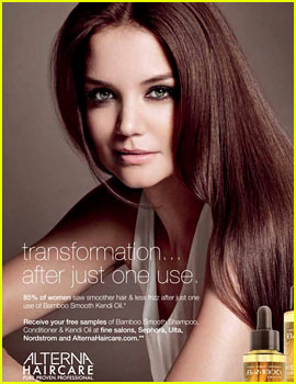 Katie Holmes: Alterna Haircare's Newest Face!