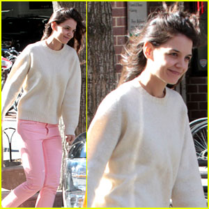 Katie Holmes: 'Real-Life Carrie Bradshaw' in New York?