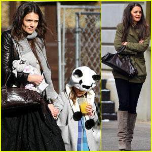 Katie Holmes: Sunday Brunch with Suri!