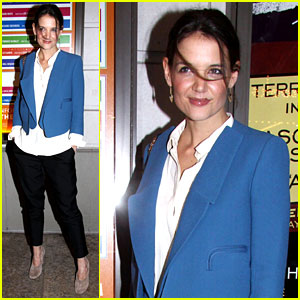 Katie Holmes: 'The Other Place' Broadway Opening Night!