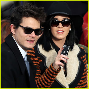 Katy Perry & John Mayer Watch Presidential Inauguration 2013