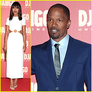 Kerry Washington & Jamie Foxx: 'Django Unchained' Rome Premiere!