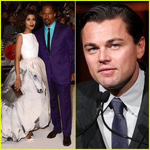 'Django' Premieres in London, Leonardo DiCaprio Attends NBR