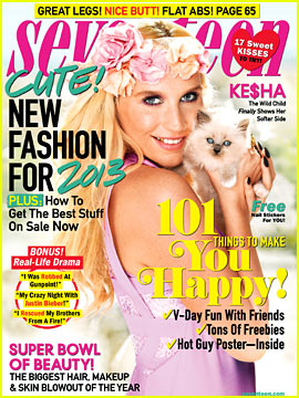 Ke$ha Covers 'Seventeen' February 2013
