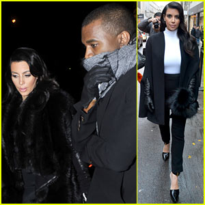 Kim Kardashian & Kanye West: 'Perfect Night in Paris'!
