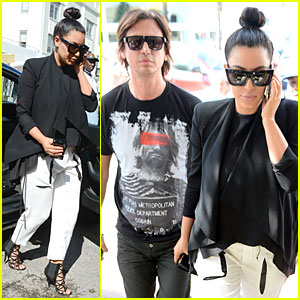 Kim Kardashian: Lunch & Shopping with Jonathan Cheban!