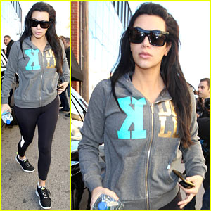 Kim Kardashian: Sister Kourtney Looks 'Incredible' Post-Baby Weight!