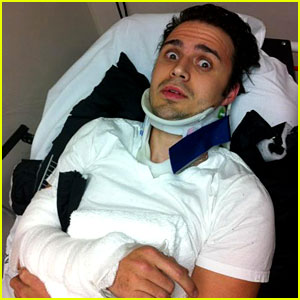 Kris Allen Breaks Arm in Head-On Collision Car Crash