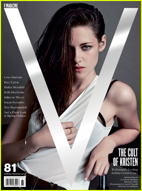 Kristen Stewart Covers 'V' Magazine Spring Preview 2013!