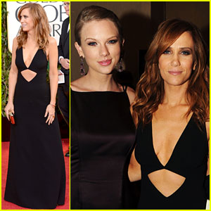 Kristen Wiig Does Taylor Swift's Shocked Face at Golden Globes 2013