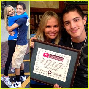 Kristin Chenoweth Surprises Teen with Maddie's Corner Award
