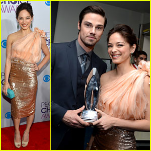 Kristin Kreuk & Jay Ryan - People's Choice Awards 2013