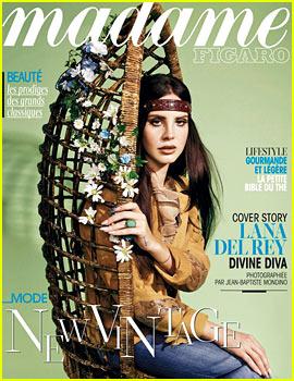Lana Del Rey Covers 'Madame Figaro' Magazine