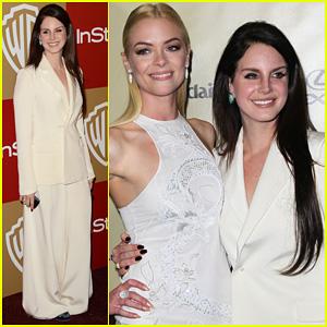 Lana Del Rey & Jaime King - Golden Globes Parties 2013