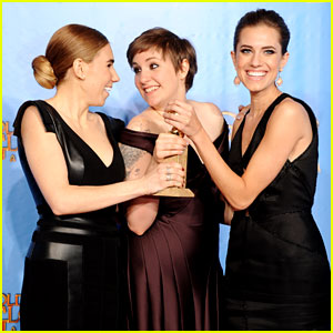 Lena Dunham: 'Girls' Wins Best Comedy Series at Golden Globes 2013!