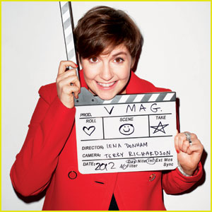 Lena Dunham's 'V' Magazine Spring Preview 2013 Feature!