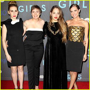 Lena Dunham & Allison Williams: 'Girls' Premiere!