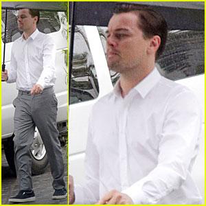 Leonardo DiCaprio: Jack Daniels Commercial in the Rain!