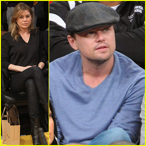 Leonardo DiCaprio: Lakers Game Night!