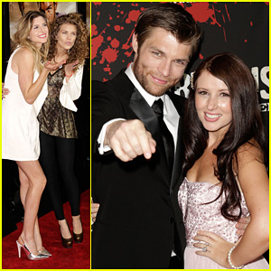 Liam McIntyre & AnnaLynne McCord: 'Spartacus - War of the Damned' Premiere!