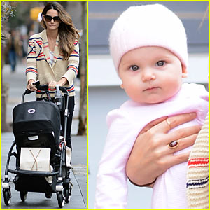Lily Aldridge: Dixie Followill Stroll in West Village!