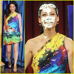 Lucy Liu: 'Late Night with Jimmy Fallon' Appearance!