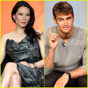Lucy Liu & Theo James: CBS's TCA Tour Panel!