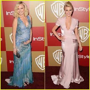 Malin Akerman & Julianne Hough - Golden Globes Parties 2013