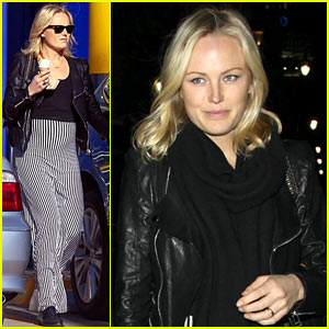 Malin Akerman: Monday Afternoon Ice Cream &#038; Shopping!