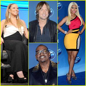 Mariah Carey & Nicki Minaj: 'American Idol' Premiere Screening!
