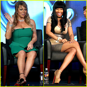 Mariah Carey &#038; Nicki Minaj: 'American Idol' TCA Panel!