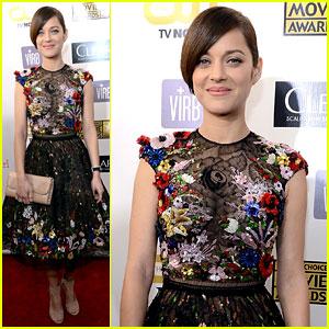 Marion Cotillard - Critics' Choice Awards 2013 Red Carpet