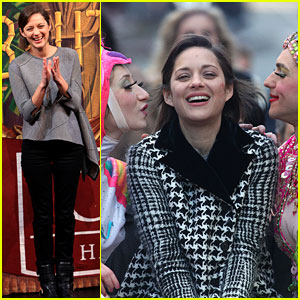 Marion Cotillard: Hasty Pudding Woman of the Year 2013!
