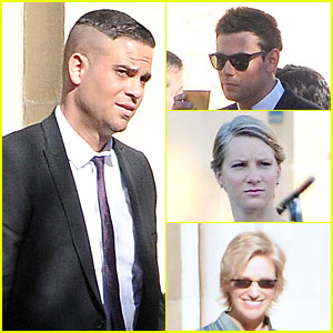Mark Salling Films 'Glee' Amid Sexual Battery Allegations