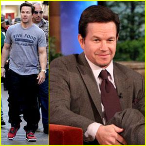 Mark Wahlberg: 'Ellen' & 'Extra' Appearances!