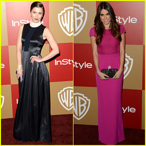 Mary Elizabeth Winstead & Nikki Reed - Golden Globes Party 2013