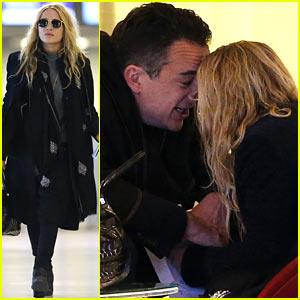 Mary-Kate Olsen & OIivier Sarkozy: Charles de Gaulle Couple!