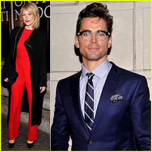 Matt Bomer: 'Cat on a Hot Tin Roof' Opening Night!