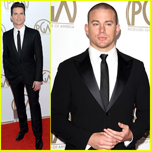 Matt Bomer & Channing Tatum - Producers Guild Awards 2013