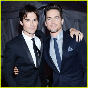Matt Bomer & Ian Somerhalder - People's Choice Awards 2013