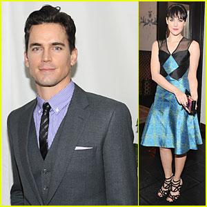 Matt Bomer & Jena Malone: 'W' Magazine's Pre-Golden Globes Party!